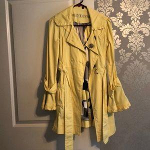 Xoxo yellow spring jacket